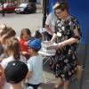 Akcja Bezpieczne Wakacje 2019  - Stoisko Edukacyjne na Placu Zwycięstwa w Gryficach