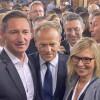 Delegacja z Pomorza Zachodniego Na spotkaniu z Donaldem Tuskiem