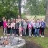 Nadleśnictwo - Zajęcia edukacyjne dla uczniów SP 4 w Gryficach -