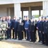 Wmurowanie aktu erekcyjnego pod budowę Komendy Powiatowej Państwowej Straży Pożarnej w Gryficach
