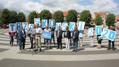 Gryfice: Konferencja poparcia dla Rafała Trzaskowskiego