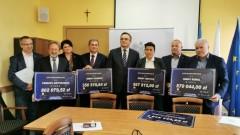 Podpisanie umów o dofinansowanie z Funduszu Dróg Samorządowych