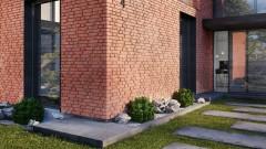 Prawdziwe zalety (nie)prawdziwej cegły  płytki cegłopodobne  vs.  płytki cięte  z cegły