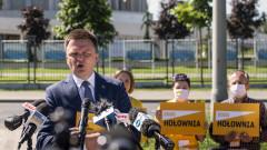 Prezydencki spot Szymona Hołowni o demokracji