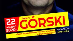 Robert Górski w gryfickiej bibliotece
