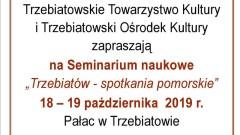 SEMINARIUM  NAUKOWE - Program