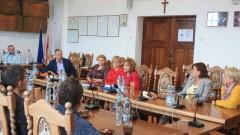 Spotkanie burmistrza z dyrektorami placówek oświatowych