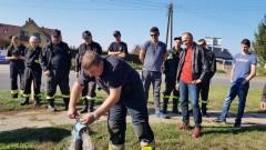 Strażacy sprawdzali hydranty