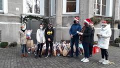 Święty Mikołaj zawitał do Młodzieżowego Ośrodka Socjoterapii w Waniorowie