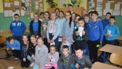 Uczniowie ze Szkoły Podstawowej w Mechowie świętują Międzynarodowy Dzień Praw Dziecka wspólnie z UNICEF