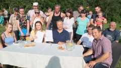 W Olchowie nad jeziorem powstaje pomost