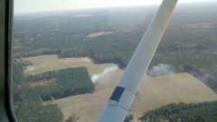 Zagrożone pożarem:   Lasy pod ochroną leśników i strażaków