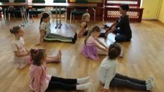 Zajęcia baletowe w Pałacu