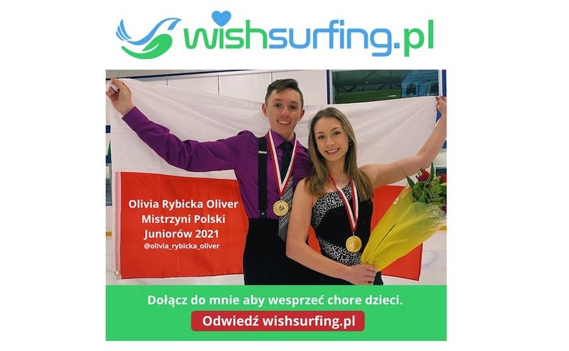 18-letnia Olivia Rybicka-Oliver, mistrzyni Polski w tańcach na lodzie…
