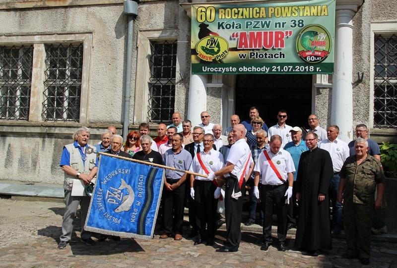 60-lecie Koła PZW nr 38 AMUR w Płotach