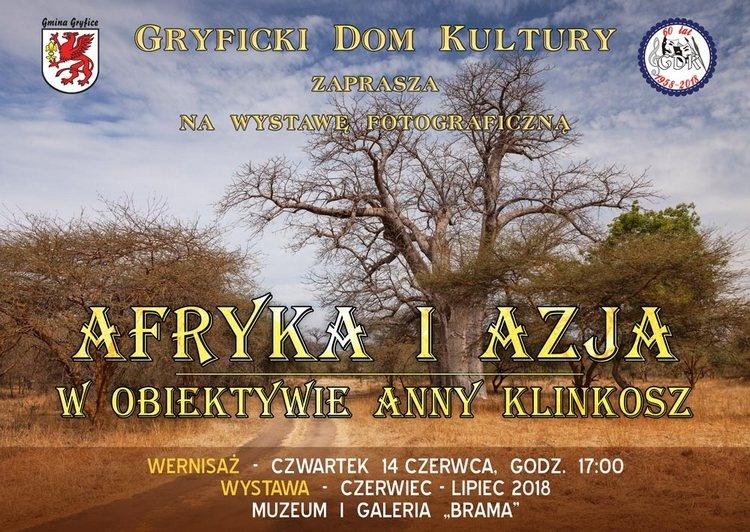 """""""Afryka i Azja w obiektywie Anny Klinkosz"""""""