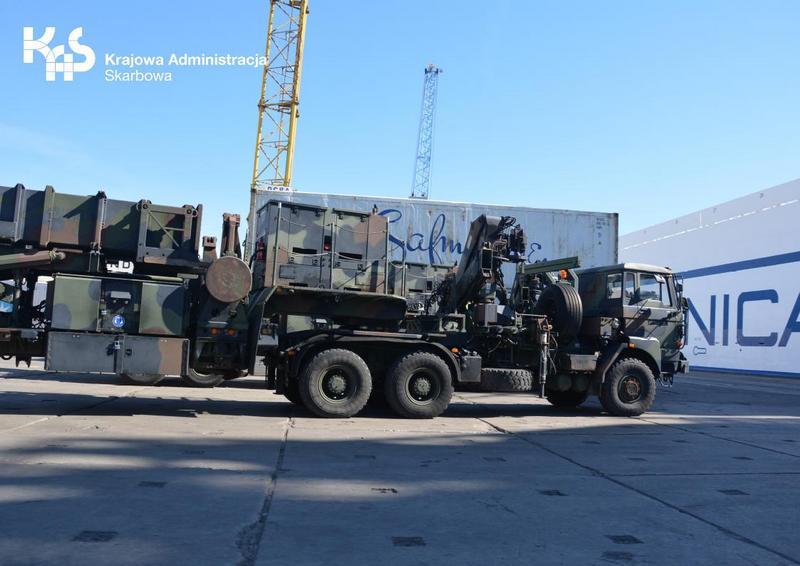 Amerykańska armia doceniła zachodniopomorską Krajową Administrację Skarbową