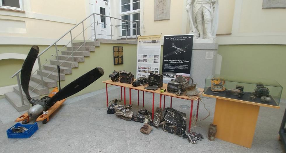Archeologia lotnicza w Muzeum Oręża Polskiego - prezentujemy kolejne znaleziska