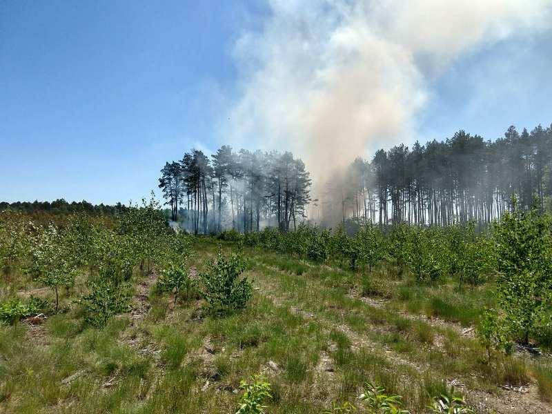 Bardzo duże zagrożenie pożarowe !!!