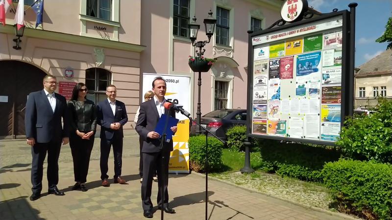 Burmistrz Myśliborza dołącza do Polski 2050