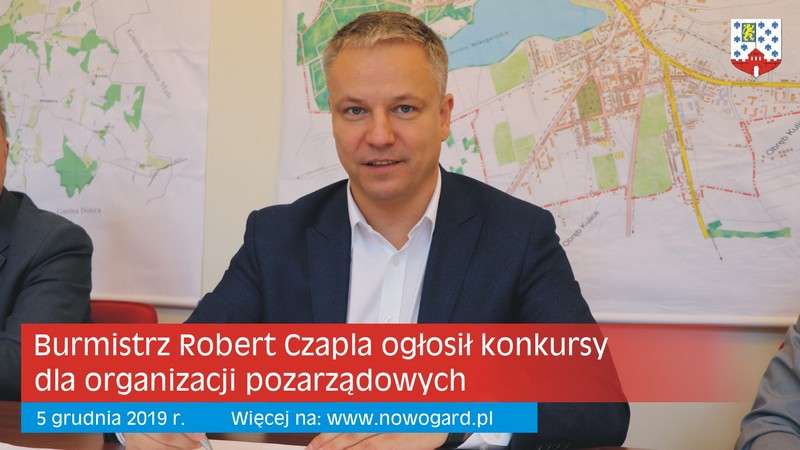 Burmistrz ogłosił konkursy dla organizacji pozarządowych