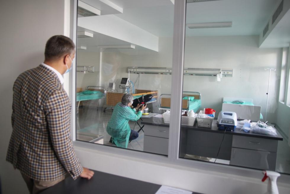 Burmistrz Robert Czapla – kolejne wsparcie dla szpitala