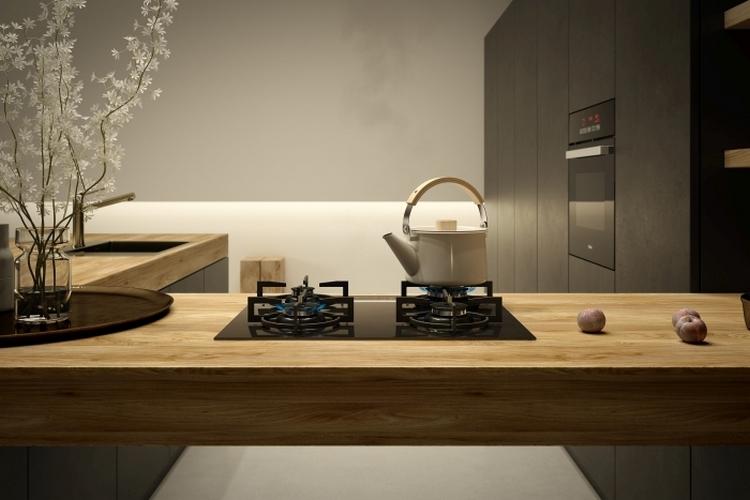 Czarne wnętrza w kuchni – trend z charakterem