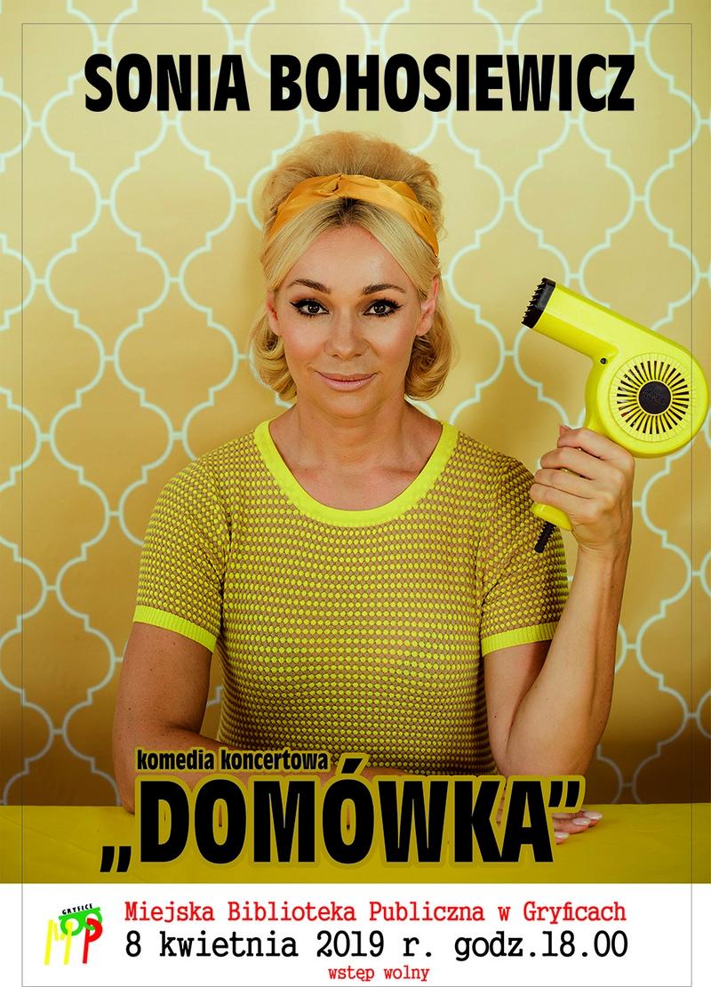 """""""Domówka"""" z Sonią Bohosiewicz w MBP w Gryficach"""