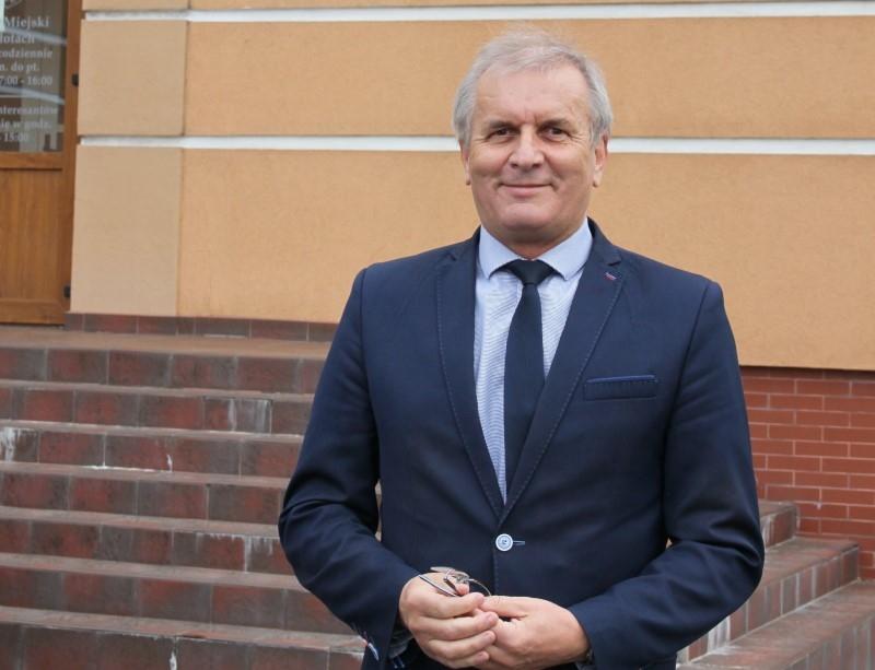 Dyrektor POLREGIO w Płotach, życzenia dla jubilata i… dobre wieści dla pasażerów