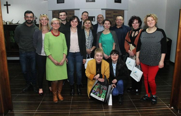Dziennikarze z Gruzji odwiedzili Polskę