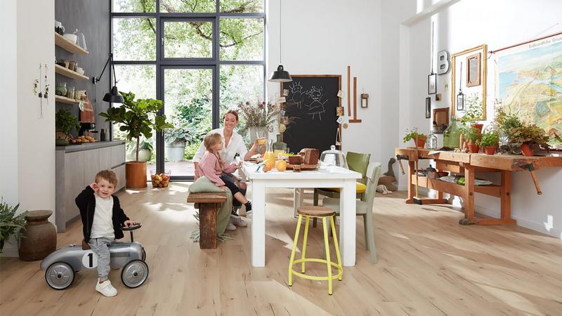 Ekologiczne podłogi PURLINE marki wineo – bezpieczne i zdrowe z natury