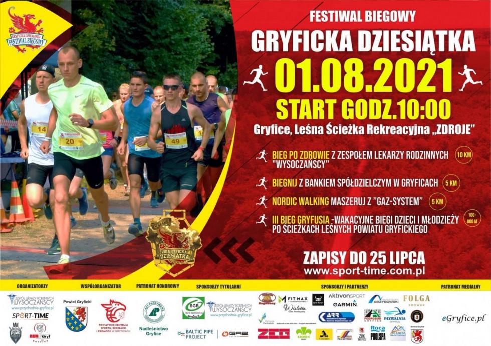 Festiwal Biegowy Gryficka Dziesiątka