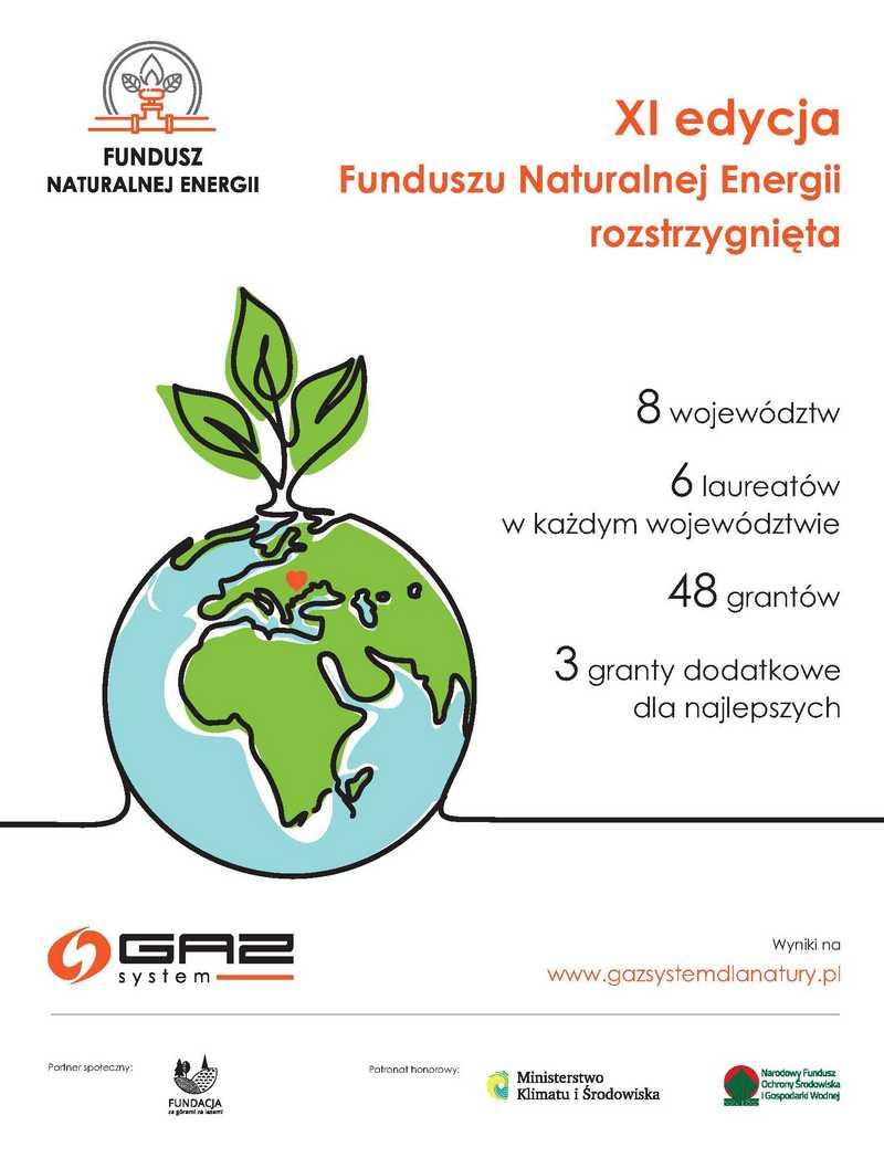 GAZ-SYSTEM wspiera ekologiczne projekty