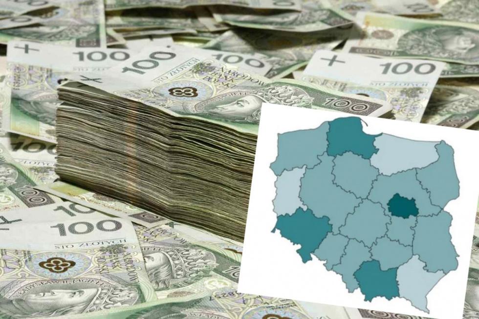 Gdzie zarabia się najwięcej? Najnowsze dane o pensjach Polaków