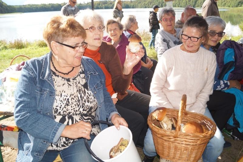 Gryficcy seniorzy i grzybobranie w Skrzydłowie