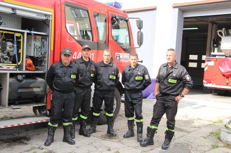 Gryficcy strażacy szczęśliwie powrócili ze Szwecji