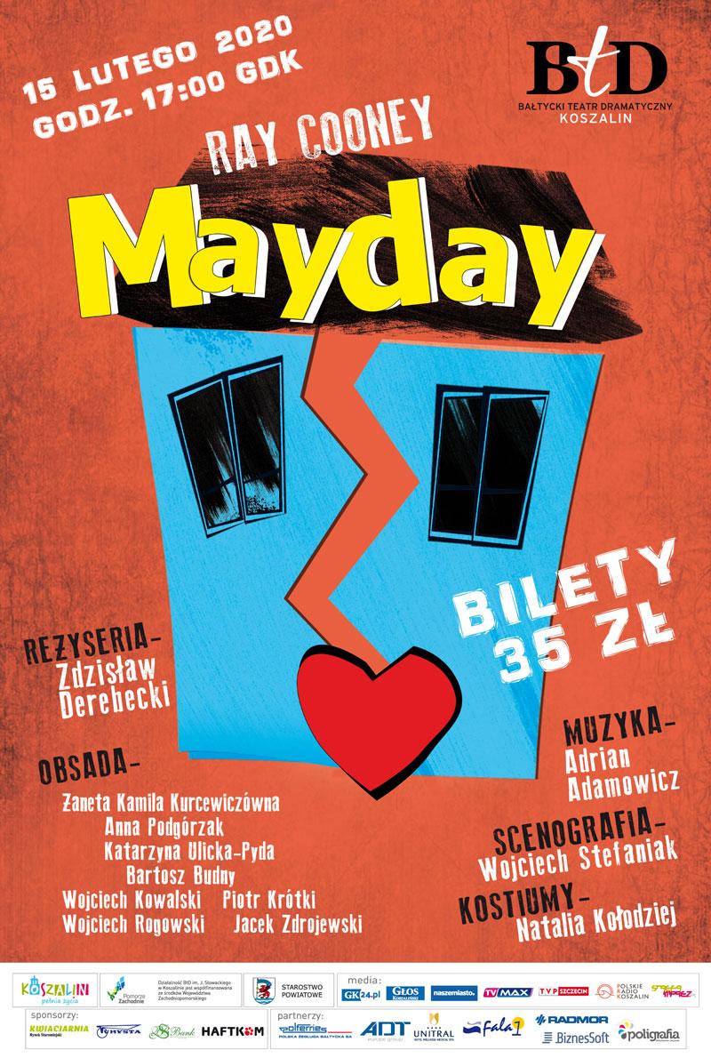 """Gryficki Dom Kultury zaprasza na spektakl """"Mayday"""""""