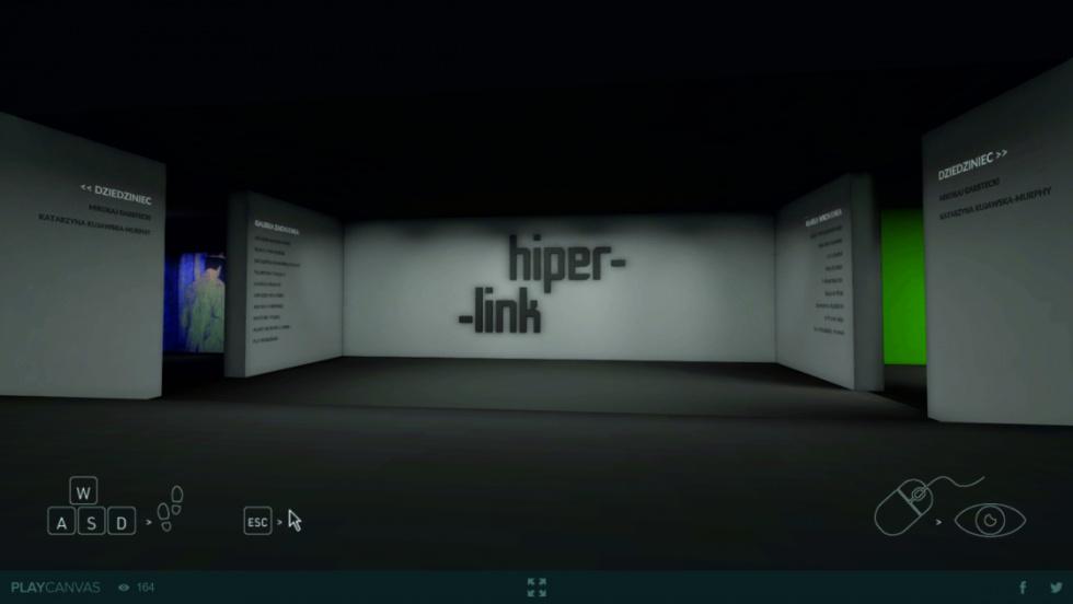 HIPERLINK: wirtualne oprowadzanie kuratorskie