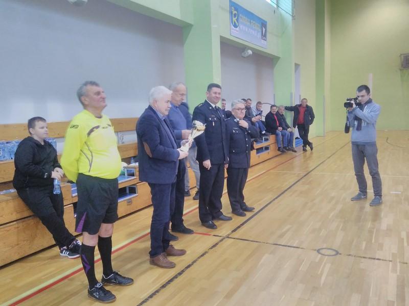 II Zimowy Halowy Turniej Piłki Nożnej Drużyn Strażackich