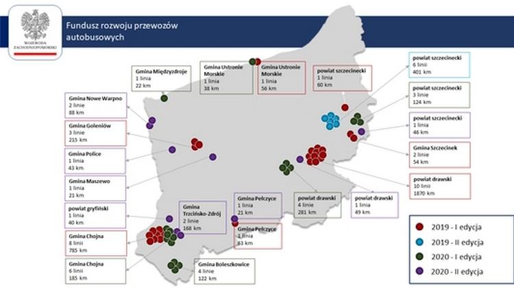 III nabór wniosków o dofinansowanie połączeń autobusowych na 2020 r.