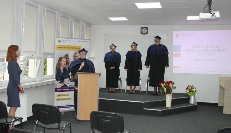 Inauguracja Roku Akademickiego w ZPSB w Gryficach