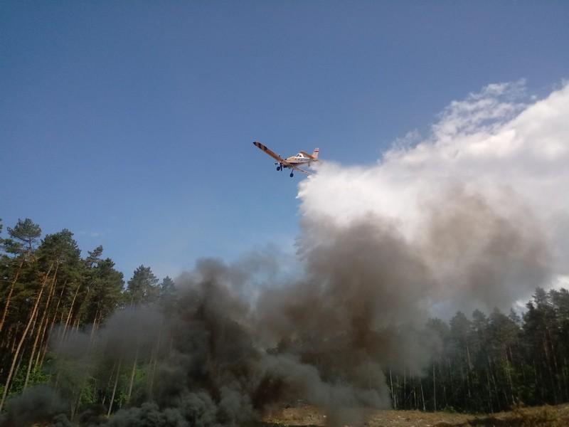 Informacja o zagrożeniu pożarowym w lasach