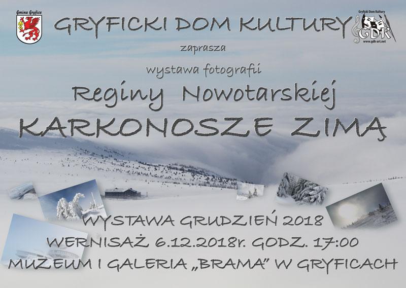 """""""Karkonosze zimą"""" w w Muzeum i Galerii """"Brama"""""""