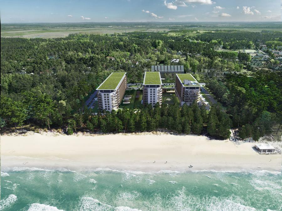Kolejny etap budowy PINEA Resort w Pobierowie