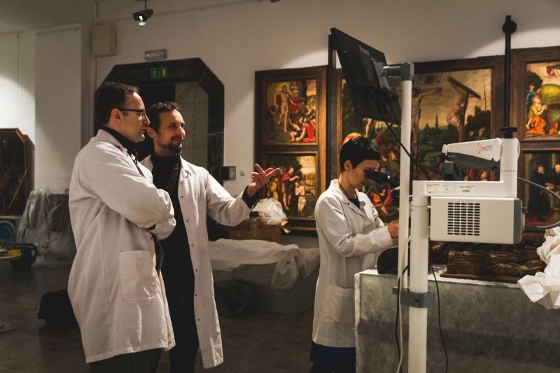 Konserwatorskie Niebo – zakup wyposażenia do Pracowni Działu Konserwacji Zbiorów Muzeum Narodowego w Szczecinie