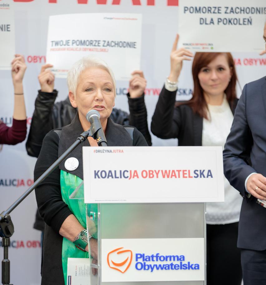 Magdalena Kochan z poparciem PSL