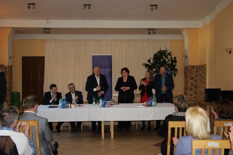 Minister Joahim Brudziński w powiecie gryfickim