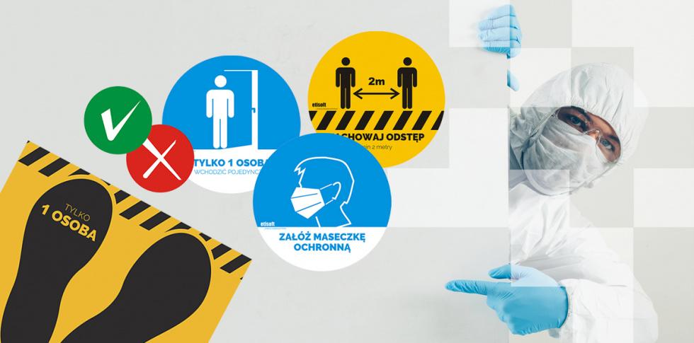Naklejki ostrzegawcze – sposób na zapewnienie bezpieczeństwa w miejscach publicznych