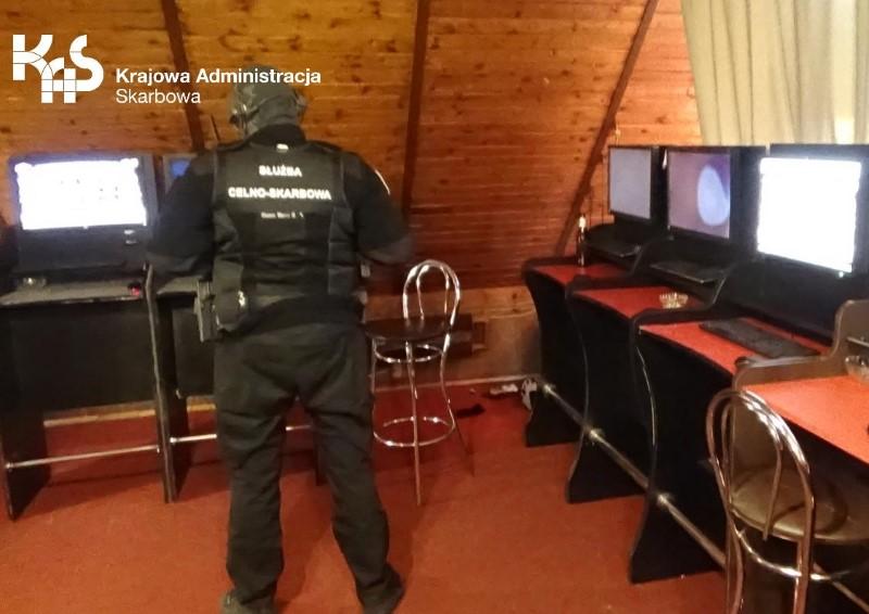 Nielegalny punkt hazardowy na szczecińskim Prawobrzeżu