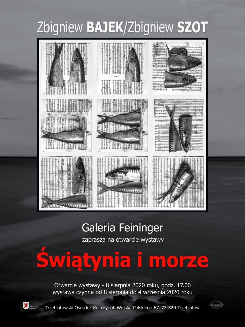 """Nowa wystawa """"Świątynia i morze."""" Zbigniew Bajek – Zbigniew Szot"""